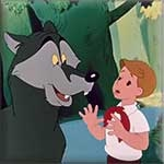 www.bookbaby.ru сказка Петя и волк